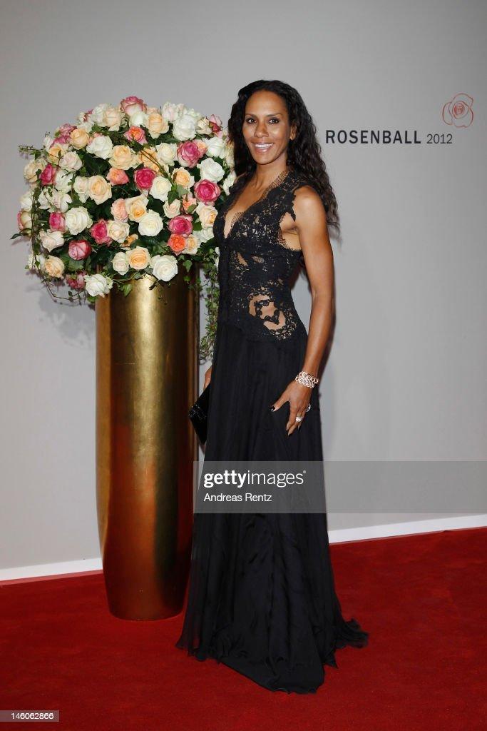 Barbara Becker attends the Rosenball at Hotel Intercontinental on June 9, 2012 in Berlin, Germany.