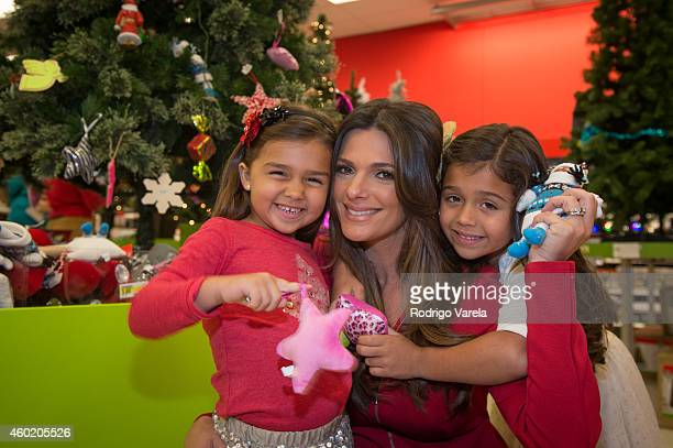 Barbara Bermudo and daughters experience Bullseye's Playground a oneofakind mobile experience powered by Google at Target at Target Dadeland South on...
