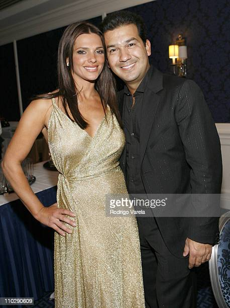 Barbara Bermudo and Mario Moreno during The 7th Annual Latin GRAMMY Awards Official After Party at Sheraton Hotel in New York City New York United...