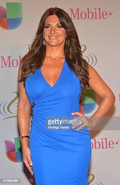 Barbara Bermudo attends Premio Lo Nuestro a la Musica Latina 2014 at American Airlines Arena on February 20 2014 in Miami Florida