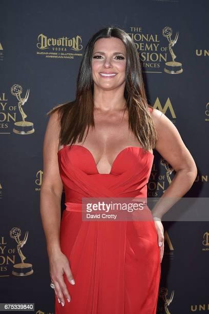 Barbara Bermudo attends the 44th Annual Daytime Emmy Awards Arrivals at Pasadena Civic Auditorium on April 30 2017 in Pasadena California
