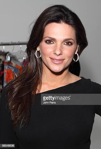 Barbara Bermudo attends Trendy Studios 15th Anniversary party on November 13 2009 in Miami Florida