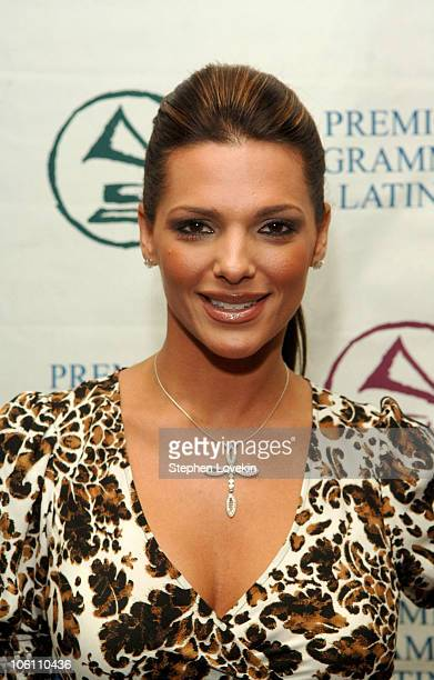 Barbara Bermudo during The 7th Annual Latin GRAMMY Awards Nominations Ceremony Green Room at The Theater at Madison Square Garden in New York City...