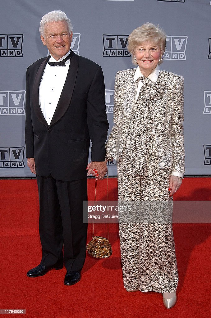 Barbara Billingsley and guest during TV Land Awards: A Celebration of Classic TV - Arrivals at Hollywood Palladium in Hollywood, California, United States.