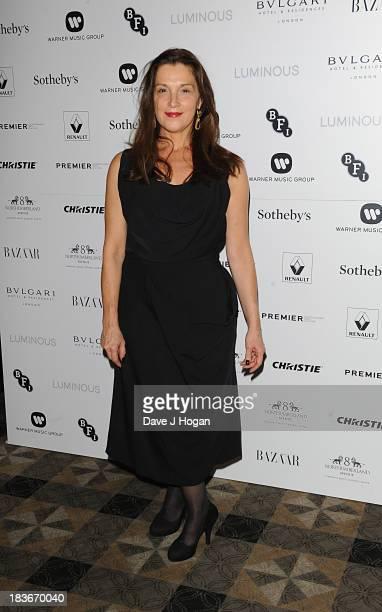 Barbara Broccoli attends BFI Gala Dinner on October 8 2013 in London England