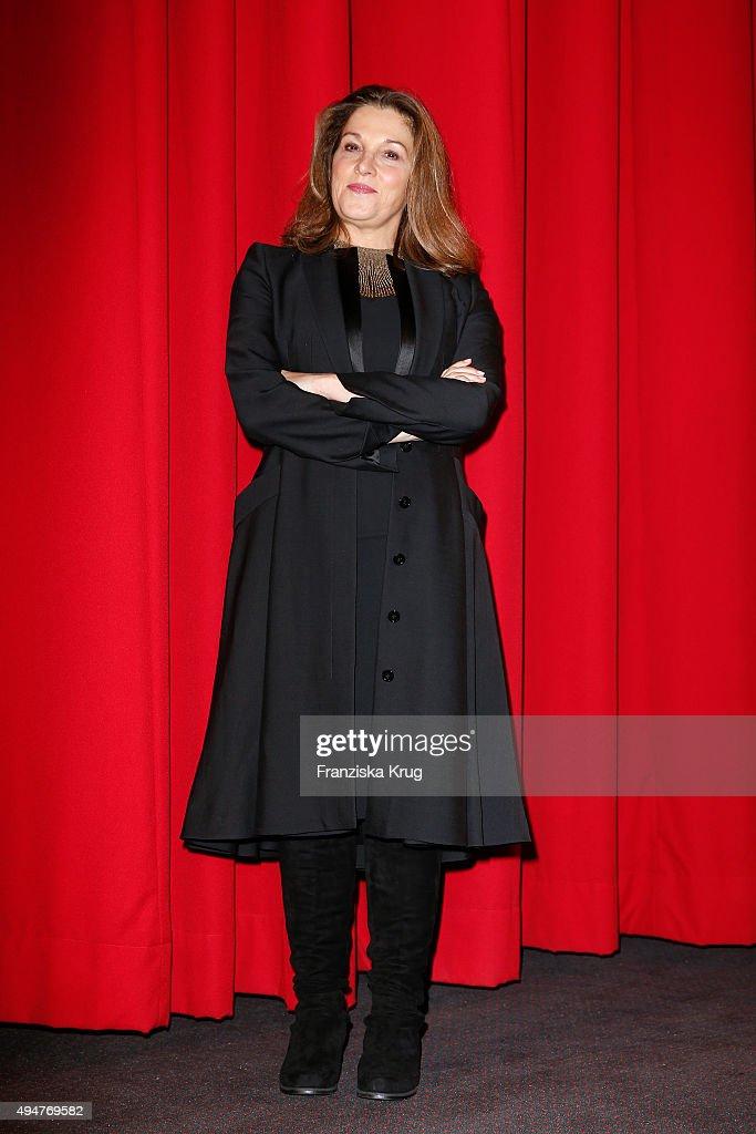 Barbara Broccoli attends the Spectre' German Premiere on October 28, 2015 in Berlin, Germany.
