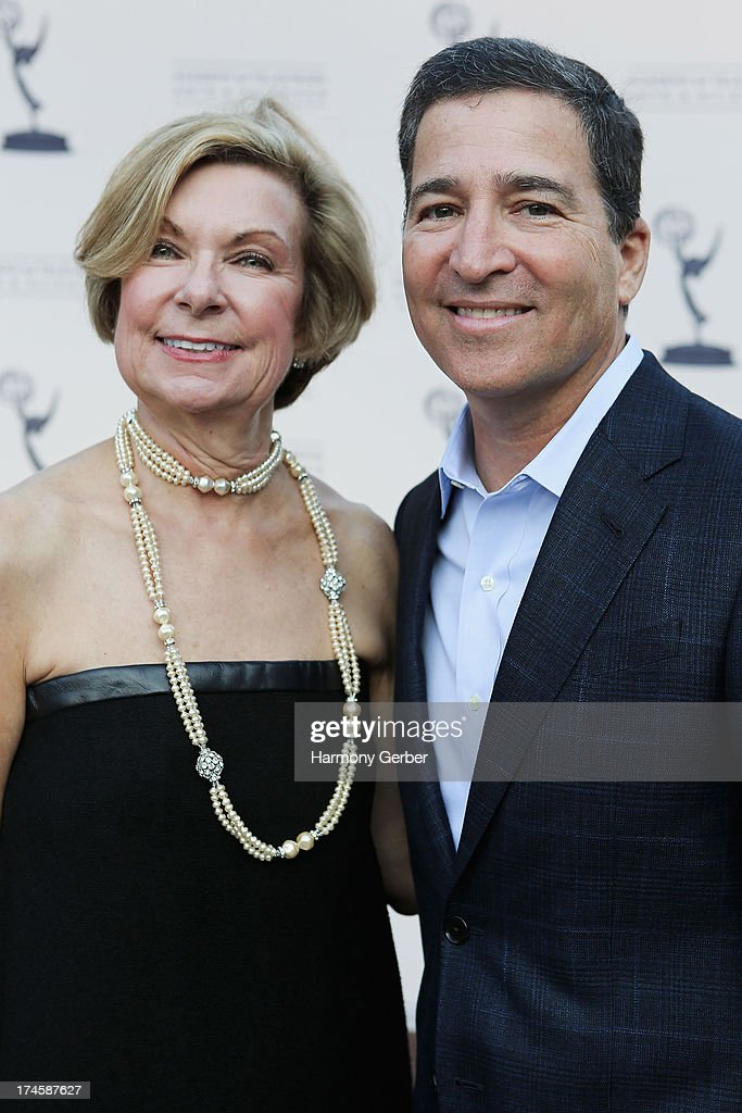 Barbara Bundy and Bruce Rosenblum attend The Academy Of Television Arts & Sciences' Costume Design & Supervision Peer Group 65th Primetime Emmy Awards Nominee Reception on July 27, 2013 in Los Angeles, CA.
