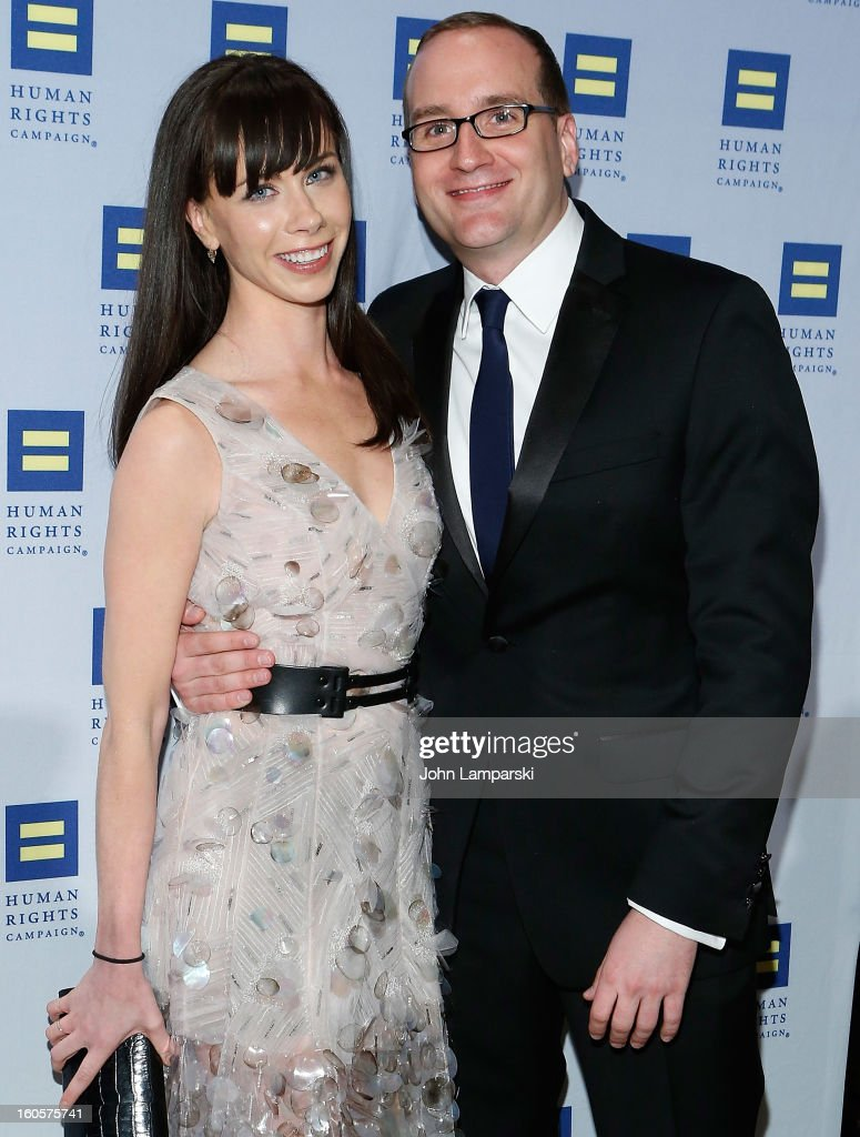 Barbara Bush and Chad Griffin attend The 2013 Greater New York Human Rights Campaign Gala at The Waldorf=Astoria on February 2, 2013 in New York City.