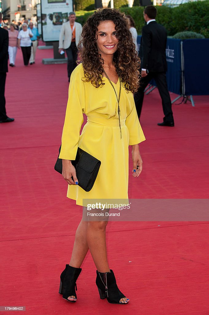 Barbara Cabrita arrives at the premiere of the film 'Parkland' during the 39th Deauville American Film Festival on September 4, 2013 in Deauville, France.