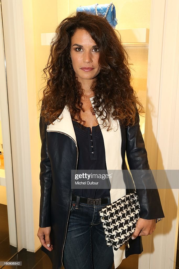 Barbara Cabrita attends the Vogue Fashion Night In Paris at Dior rue Royale on September 17, 2013 in Paris, France.