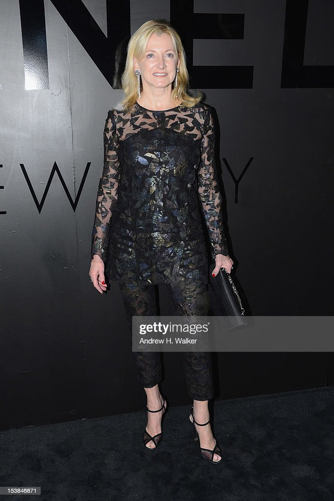 Barbara Cirkva attends the celebration of CHANEL FINE JEWELRY'S 80th anniversary of the 'Bijoux De Diamants' collection created by Gabrielle Chanel on October 9, 2012 in New York City.