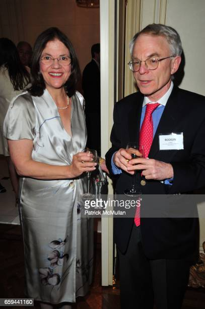 Barbara Cohen and H Rodgin Cohen attend NYU Tisch School of the Arts Fall Fete celebrating the 2009 Tisch Gala at Private Residence NYC on September...