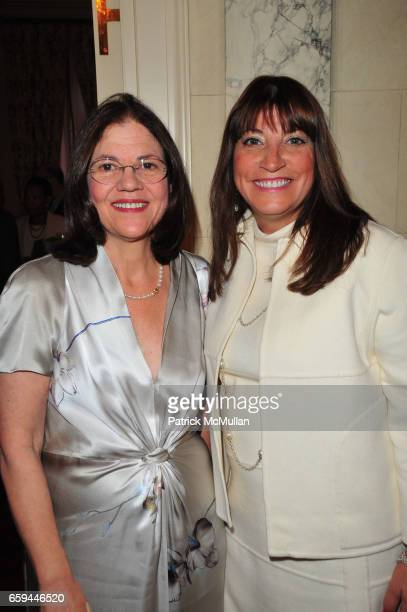 Barbara Cohen and Rosemarie DiLorenzo attend NYU Tisch School of the Arts Fall Fete celebrating the 2009 Tisch Gala at Private Residence NYC on...