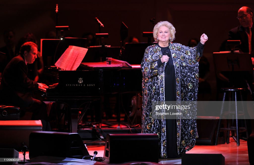 Barbara Cook performs onstage at the 120th Anniversary of Carnegie Hall on April 12, 2011 in New York City.