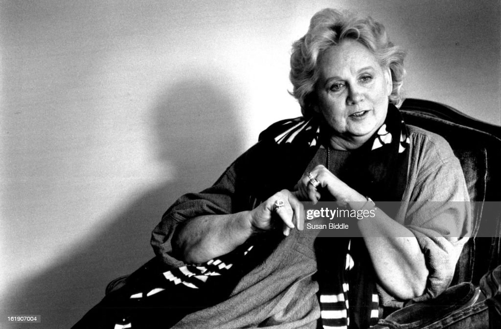 OCT 27 1988; Barbara Cook, singer/actress performing at Elitch's;