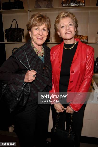 Barbara Copeland and Rani Garfinkle attend GIORGIO ARMANI Celebrates FASHION'S NIGHT OUT With A Special Reading of 'Love Loss and What I Wore' at...