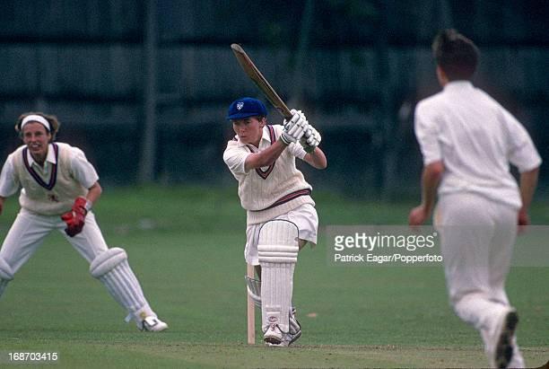 Barbara Daniels batting Women's World Cup 1993 England v Holland