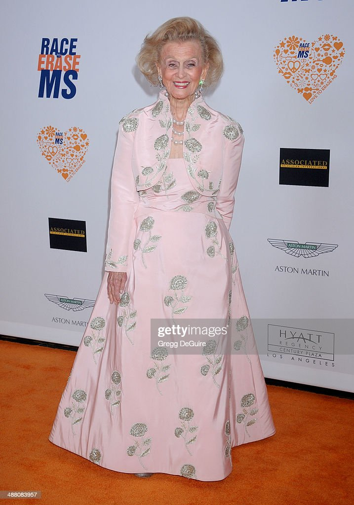 Barbara Davis arrives at the 21st Annual Race To Erase MS Gala at the Hyatt Regency Century Plaza on May 2, 2014 in Century City, California.
