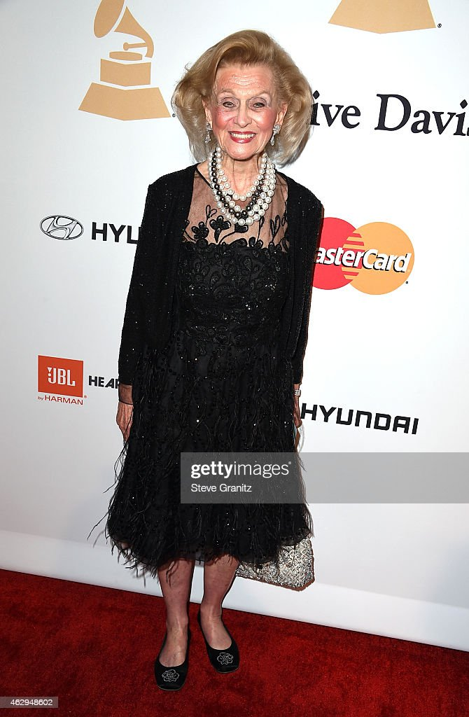 Barbara Davis attends the Pre-GRAMMY Gala and Salute To Industry Icons honoring Martin Bandier on February 7, 2015 in Los Angeles, California.