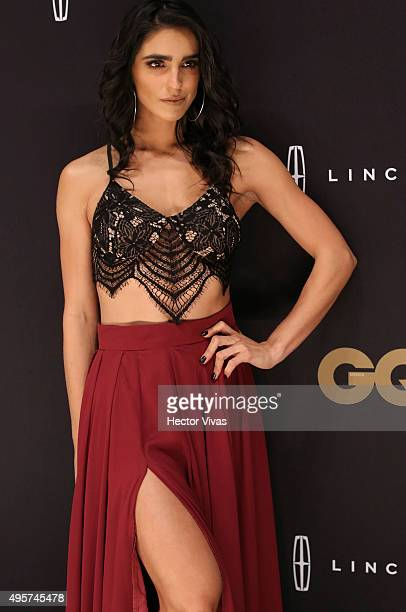 Barbara de Regil during the red carpet of GQ Mexico Men of The Year 2015 Awards at Live Aqua on November 04 2015 in Mexico City Mexico