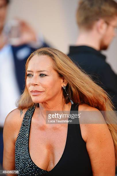 Barbara de Rossi attends the '3 Coeurs' premiere during the 71st Venice Film Festival on August 30 2014 in Venice Italy