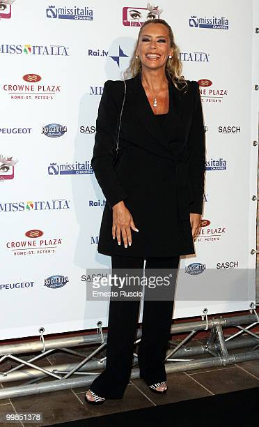 Barbara De Rossi attends the My Fair Miss Web channel launch at Crowne Plaza on May 17 2010 in Rome Italy