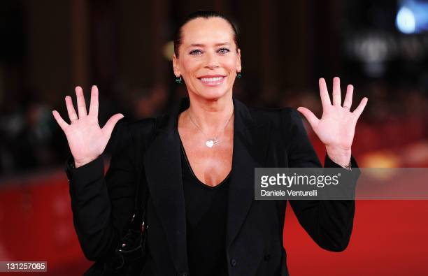 Barbara De Rossi attends the 'Noi di Settembre' Premiere during the 6th International Rome Film Festival at Auditorium Parco Della Musica on November...