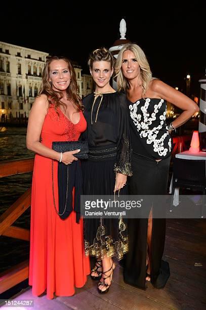 Barbara De Rossi Nicoletta Romanoff and Tiziana Rocca attend the Premio Diva Donna at the Centurion Hotel on September 4 2012 in Venice Italy