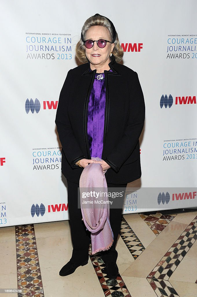 Barbara Diamonstein-Spielvogel attends the International Women's Media Foundation's 2013 Courage In Journalism And Lifetime Achievement Awards at Cipriani 42nd Street on October 23, 2013 in New York City.