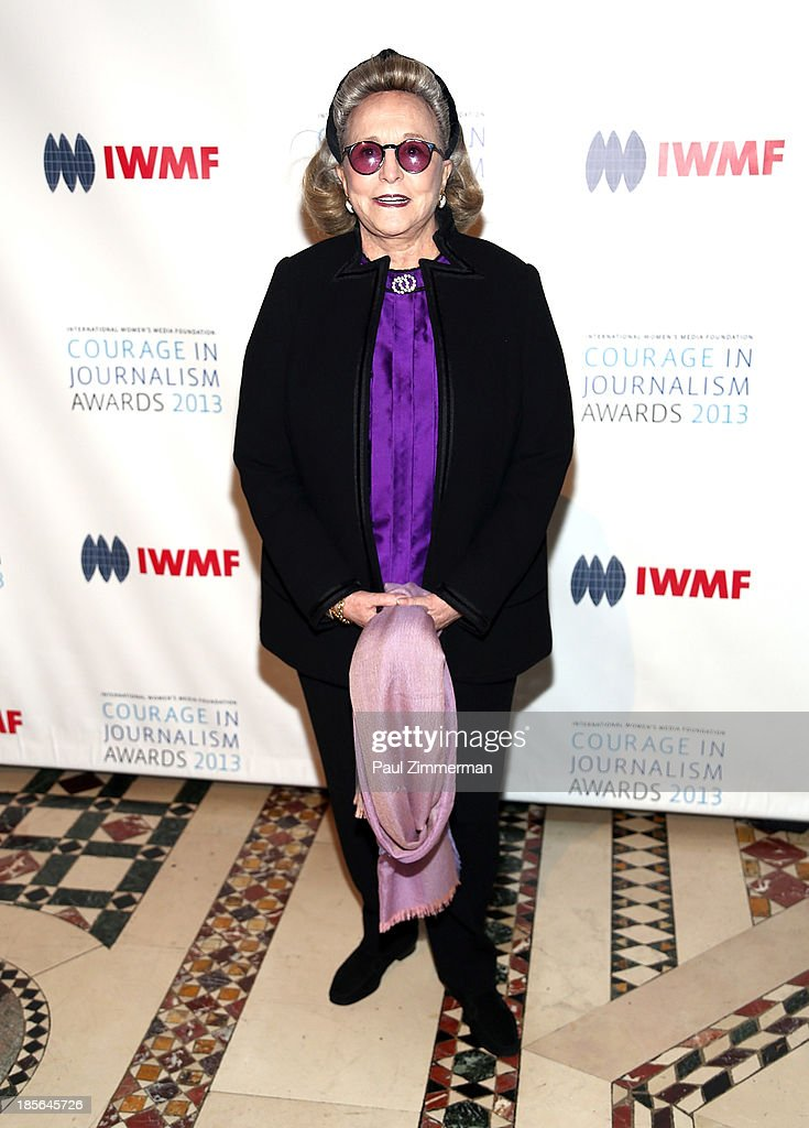 Barbara Diamonstein-Spielvogel attends the International Women's Media Foundation's 2013 Courage In Journalism awards at Cipriani 42nd Street on October 23, 2013 in New York City.