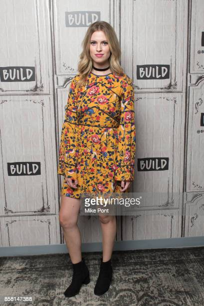 Barbara Dunkelman visits Build Studio to discuss 'RWBY' at Build Studio on October 5 2017 in New York City