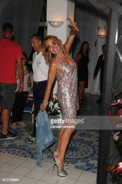 Barbara D'Urso attends 2017 Ischia Global Film Music Fest on July 10 2017 in Ischia Italy