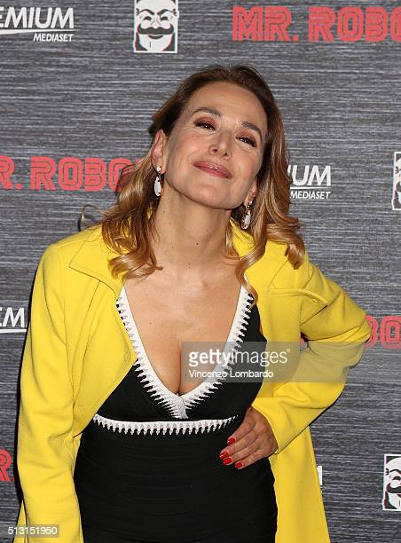 Barbara d'Urso attends the 'Mr Robot' Tv Show Photocall on February 29 2016 in Milan Italy