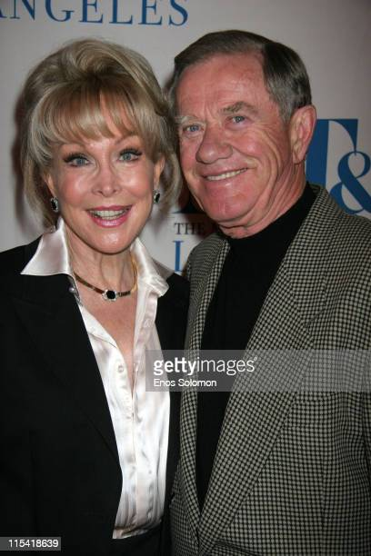 Barbara Eden and John Eicholtz during The Museum of Television Radio Turns 30 at The Museum of Television and Radio in Beverly Hills CA United States