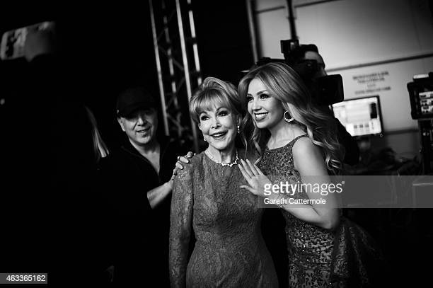 Barbara Eden and Thalia attend American Heart Association Go Red For Women Red Dress Collection 2015 Presented By Macy's At MercedesBenz Fashion Week...