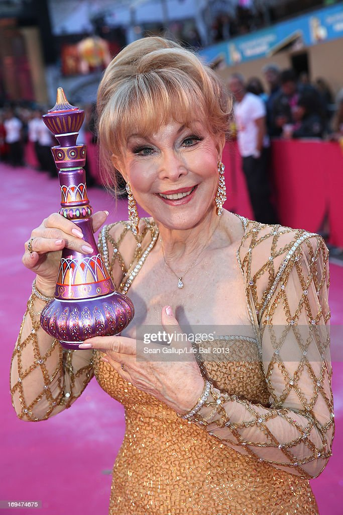Barbara Eden attends the 'Life Ball 2013 - Magenta Carpet Arrivals' at City Hall on May 25, 2013 in Vienna, Austria.