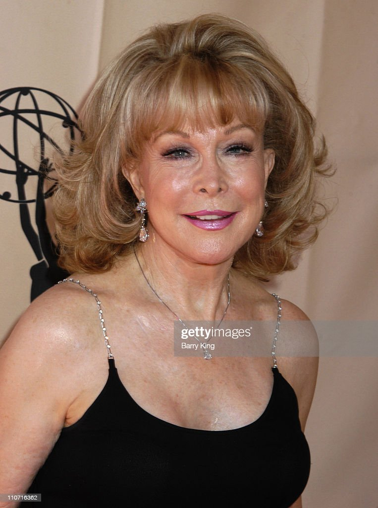 Barbara Eden during 2005 Los Angeles Area Emmy Awards - Arrivals at Academy of Television Arts & Sciences in North Hollywood, CA., United States.