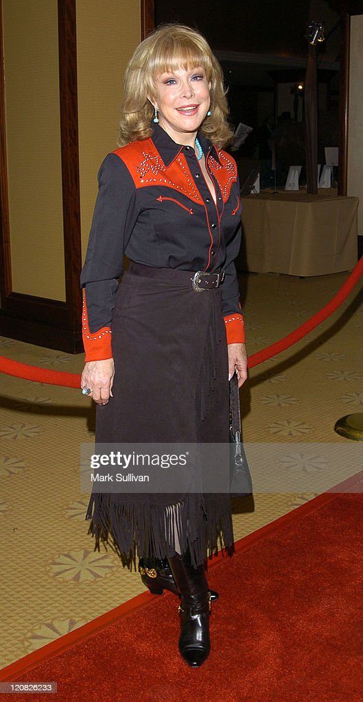 Barbara Eden during 51st Annual Boomtown Party at Century Plaza Hotel in Century City, California, United States.