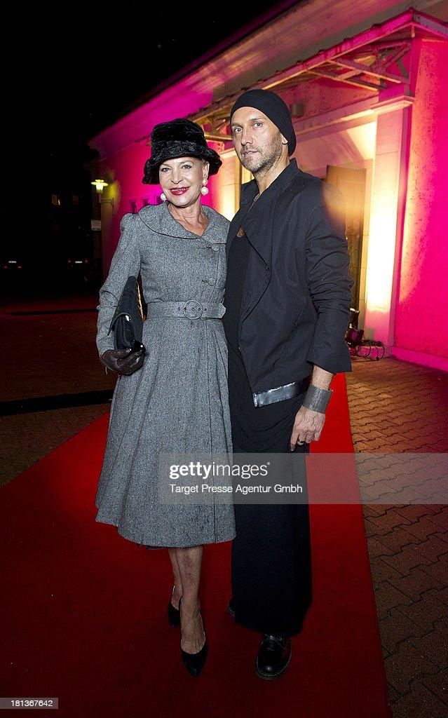 Barbara Engel and Hubertus Regout attend the 'Fest der Eleganz und Intelligenz' at Villa Siemens on September 20, 2013 in Berlin, Germany.