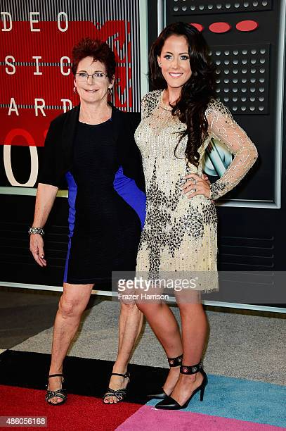 Barbara Evans and Jenelle Evans attend the 2015 MTV Video Music Awards at Microsoft Theater on August 30 2015 in Los Angeles California