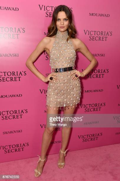 Barbara Fialho attends the 2017 Victoria's Secret Fashion Show In Shanghai After Party at MercedesBenz Arena on November 20 2017 in Shanghai China