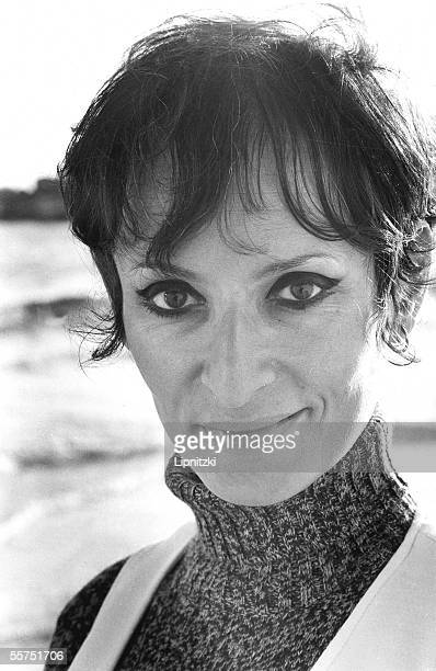Barbara French authorcomposer and singer in Pontaillac in 1970