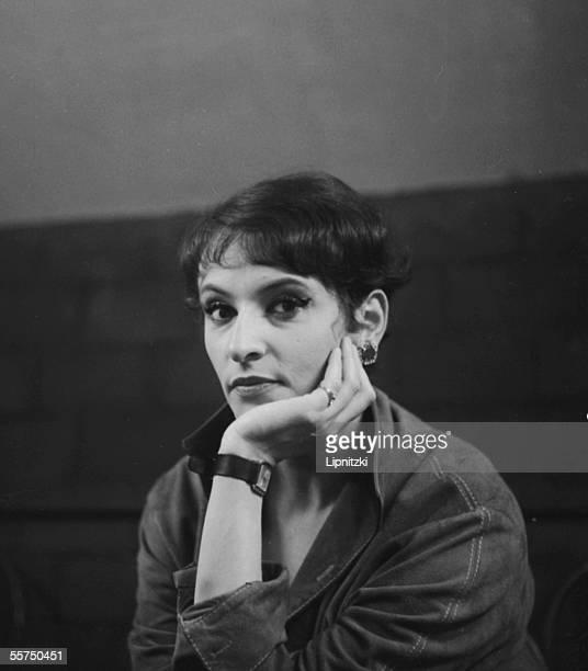 Barbara French singersongwriter Paris palais des Sports May 1965
