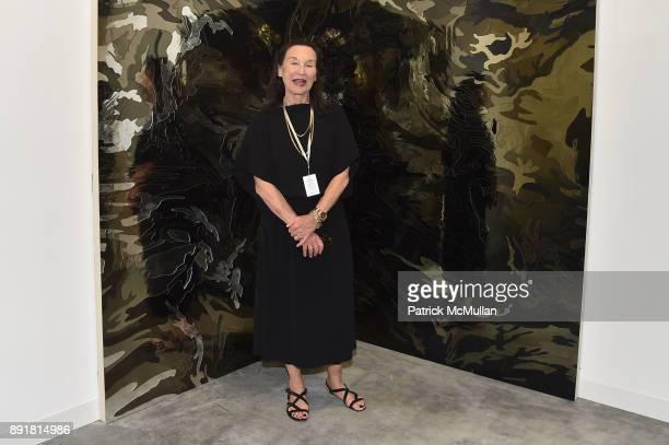 Barbara Galdstone attends Art Basel Miami Beach Private Day at Miami Beach Convention Center on December 6 2017 in Miami Beach Florida