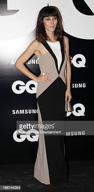 Barbara Goenaga attends GQ Men of the Year Awards 2012 photocall at Palace Hotel on November 19 2012 in Madrid Spain