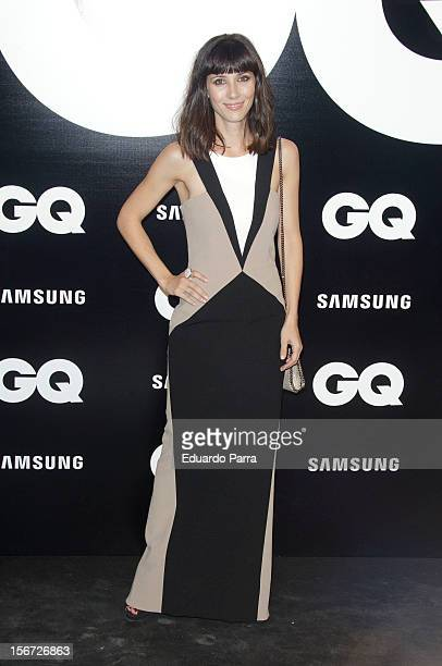 Barbara Goenaga attends GQ Men of the year awards photocall at Palace hotel on November 19 2012 in Madrid Spain