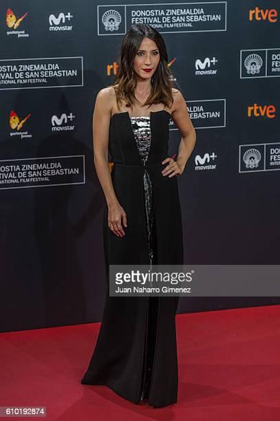 Barbara Goenaga attends the red carpet of the closing gala of 64th San Sebastian Film Festival at Kursaal on September 24 2016 in San Sebastian Spain