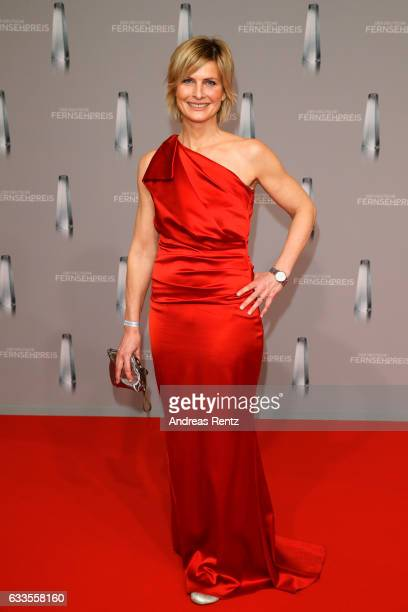 Barbara Hahlweg attends the German Television Award at Rheinterrasse on February 2 2017 in Duesseldorf Germany