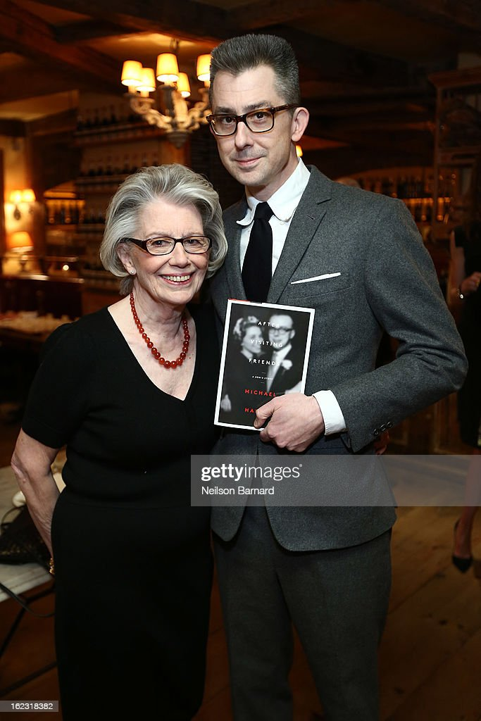 Barbara Hainey (L) and GQ Deputy Editor and author Michael Hainey attend the GQ 'After Visiting Friends' Book Party on February 21, 2013 in New York City.
