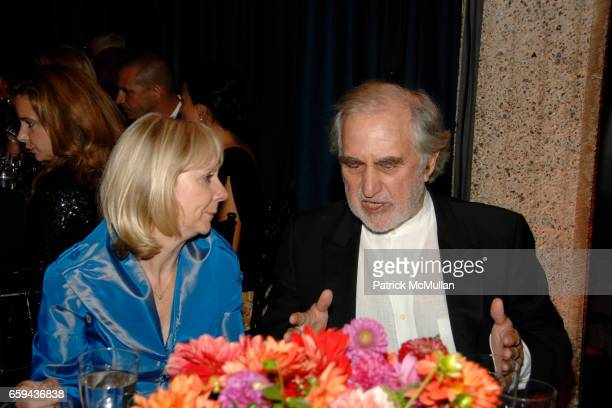 Barbara Haskell and Sam Rose attend GEORGIA O'KEEFFE 'ABSTRACTION' Opening Reception and Dinner at The Whitney Museum on September 16 2009 in New York